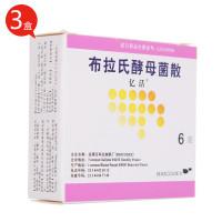 亿活 布拉氏酵母菌散 0.25g*6袋 *3件