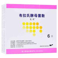 亿活 布拉氏酵母菌散 0.25g*6袋