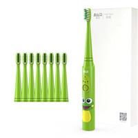 拜尔 儿童电动牙刷苹果绿色K3 1支主机+8刷头