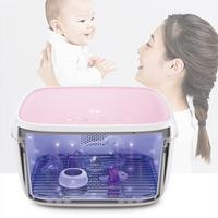 59秒 LED紫外线消毒柜带烘干箱-电池版 T5-BAT 粉红色 T5-BAT 粉色