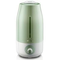 小熊/Bear 加湿器家用办公室迷你静音空气净化器 香薰 3升  绿色 JSQ-A30W5