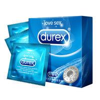 杜蕾斯 天然胶乳橡胶避孕套 活力装 3只装